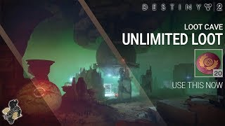 Destiny 2 Loot Cave | Unlimited Nessus Token, Glimmer, Legendary Engrams