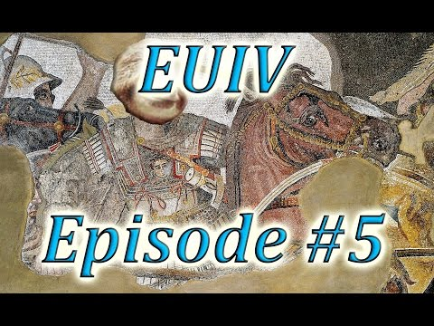 Let's Play EUIV Indo-Greece Episode 5 (WHERE THEM TIGERS AT!?)