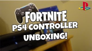 Fortnite Royale Bomber PS4 Controller Bundle Unboxing