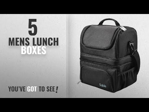 6750d8dc03db Best Mens Lunch Boxes [2018]: Lunch Box, Insulated Lunch Bag for Men ...