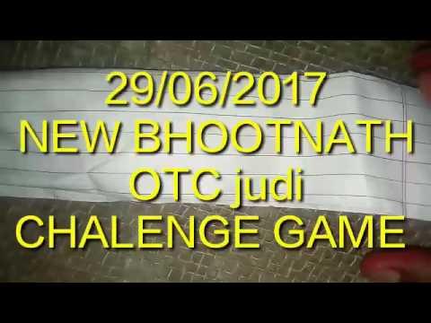 New BHOOTNATH  29/06/2017.OTC JUDI.FIX.GAME.CHALENGE