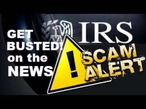 IRS SCAMMERS mistakenly call NEWS DESK - Watch what happens!