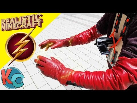 Realistic Minecraft - THE FLASH | Behind the Scenes