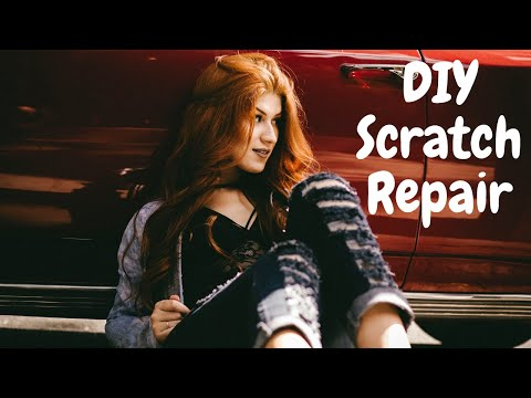 DIY Car Scratch Repair Before & After | MarketNetgr