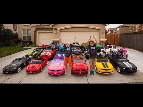 Power Wheels Collection - 21 Cars!
