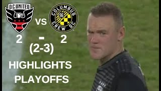 Wayne Rooney vs Columbus Crew SC Highlights | D.C. United vs Columbus Crew SC 01/11/2018