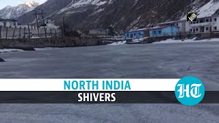 Watch: Shesh Netra Lake in Badrinath freezes partly; Delhi to get colder