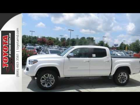 New 2017 Toyota Tacoma Lexington Park Md T099501 Youtube
