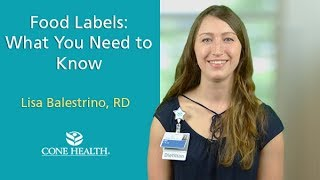 Food Labels: What You Need to Know