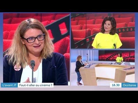 France 3 Occitanie, ouverture des salles de cinéma. Emission du 20 mai 2021.