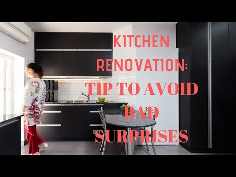 How to avoid a very bad surprise when you renovate your kitchen