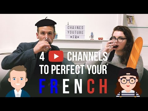 🇫🇷 4 YOUTUBE CHANNELS TO PERFECT YOUR FRENCH | La Ferpection