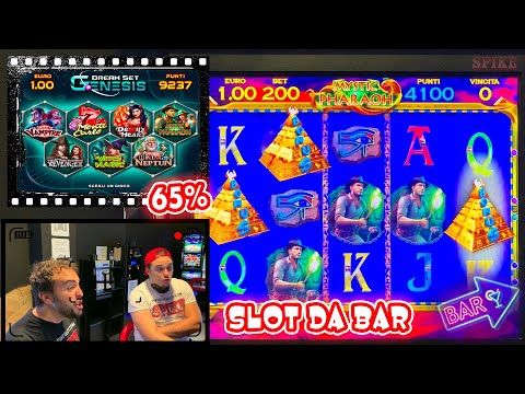 SLOT MACHINE da BAR - Giochiamo alla DREAM SET GENESIS al 65%