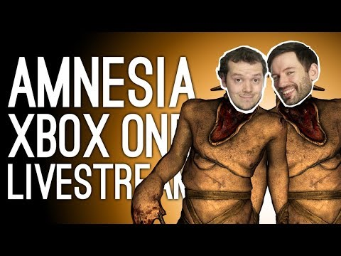 Amnesia Collection Live! 🎃 Amnesia Gameplay on Xbox One Live for Oxbox Hallowstream 🎃