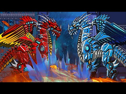 giant giant fire dragon vs ice dragon - photo #24