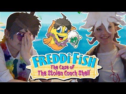 Freddi Fish 3 The Case of the Stolen Conch Shell | Hinata and Komaeda |