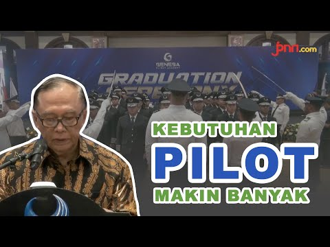 54 Lulusan Genesha Flight Academy Siap Penuhi Kebutuhan Pilot Indonesia