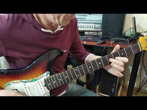 Как играть на гитаре соло и риф Агата Кристи как на войне соло и риф
