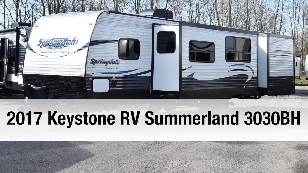 2017 Keystone RV Summerland 3030BH