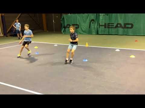 Incertitude et appuis au tennis 9/10 ans