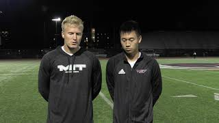 Men's Soccer Highlights & Postgame Interview from Tonight's 4-0 Win Over Wentworth