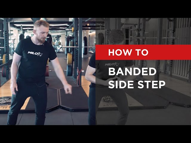 HOW TO: Banded Side Step