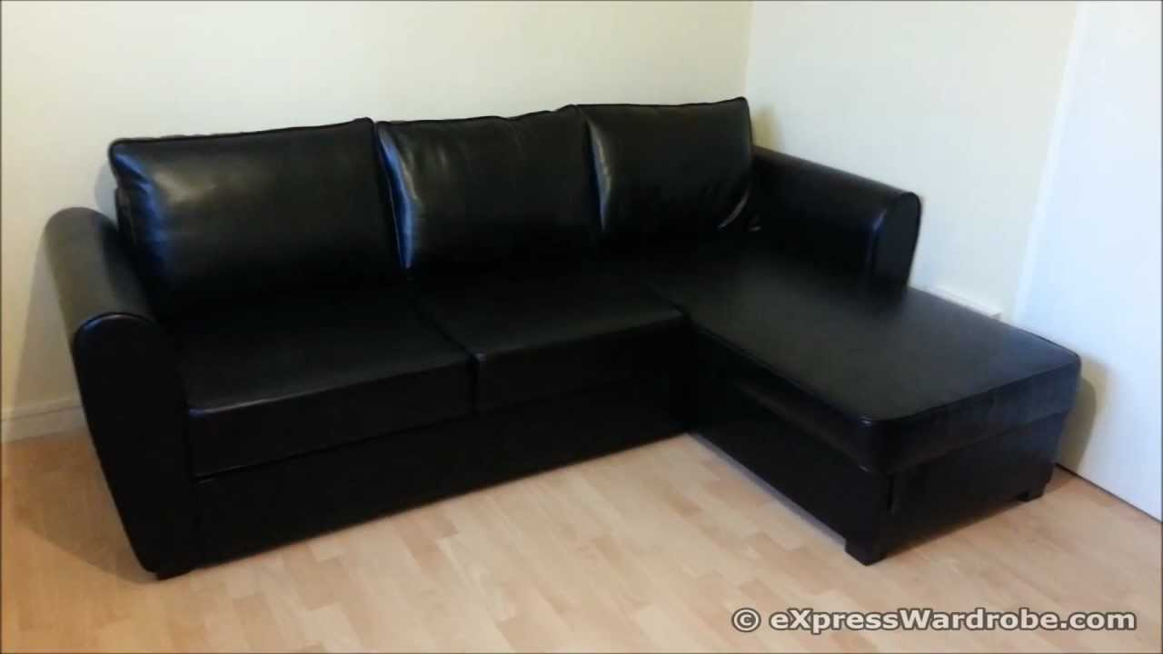 Sofa bed at argos argos siena corner leather effect sofa for Chaise longue sofa bed argos