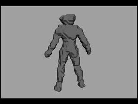 3D object Modeling from Silhouettes