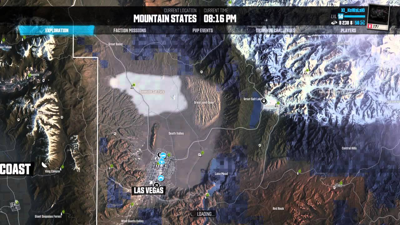 The Crew Mountain States Hidden Car Parts