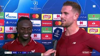 Henderson: We believe we can stay unbeaten | Post-match reaction from the Liverpool captain