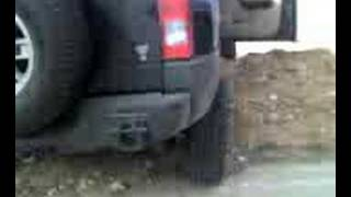 an offroading hummer accident