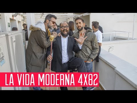 La Vida Moderna 4x82...es pedirle la hoja del setlist al cura al terminar la misa