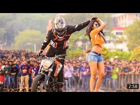 Ktm stunt show ganganagar