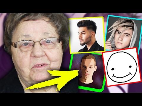 Meine OMA bewertet YouTuber nach ihrem Aussehen...