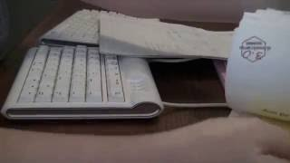 Typing and paper sorting - ASMR