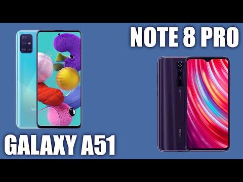 Samsung Galaxy A51 vs Xiaomi Redmi Note 8 Pro. Сравним и выберем лучшее?