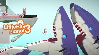 LittleBIGPlanet 3 - SHARK ATTACK & More!!! [Playstation 4]