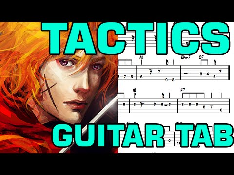 Learn How to Play Tactics Fingerstyle Acoustic Guitar Lesson TABS(RurouniKenshin.ED)
