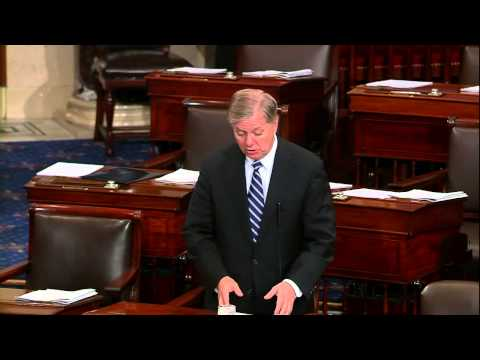 Graham Discusses Gun Violence, Alice Boland Case in South Carolina