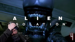 I'M SHAKING - THIS ALIEN IS EVERYWHERE! | Alien: Isolation Horror Game with Oshikorosu [4]