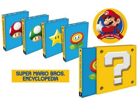 super-mario-encyclopedia-limited-edition-unboxing-|-4k
