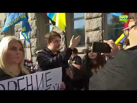 Новости Харькова: Предприниматели «Барабашово» устроили перепалку с активистами