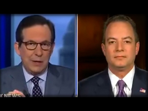 TAKING OUT THE TRASH! REINCE PRIEBUS JUST ENDED ALL THE RUSSIA-TRUMP LIES WITH JUST ONE WORD!