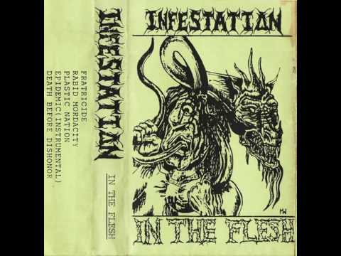 INFESTATION (milwaukee,wisconsin) ´´in the flesh´´ demo 1991