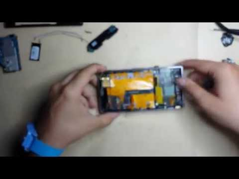 Cambio pantalla Sony Ericsson Xperia Z1 Touchscreen + Lcd + Frame Desmontaje y Montaje Completo