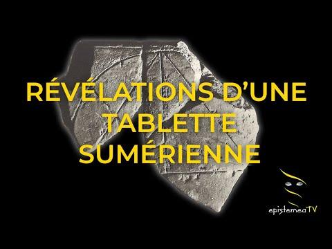 Révélations d'une tablette sumérienne - Howard Crowhurst