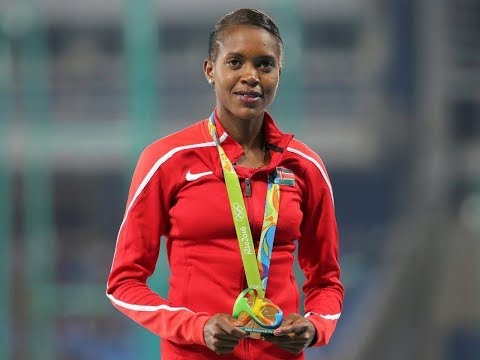 FAITH KIPYEGON wins 1500M in IAAF World Championships London 2017