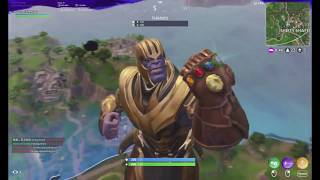 Fortnite: Playing as Thanos