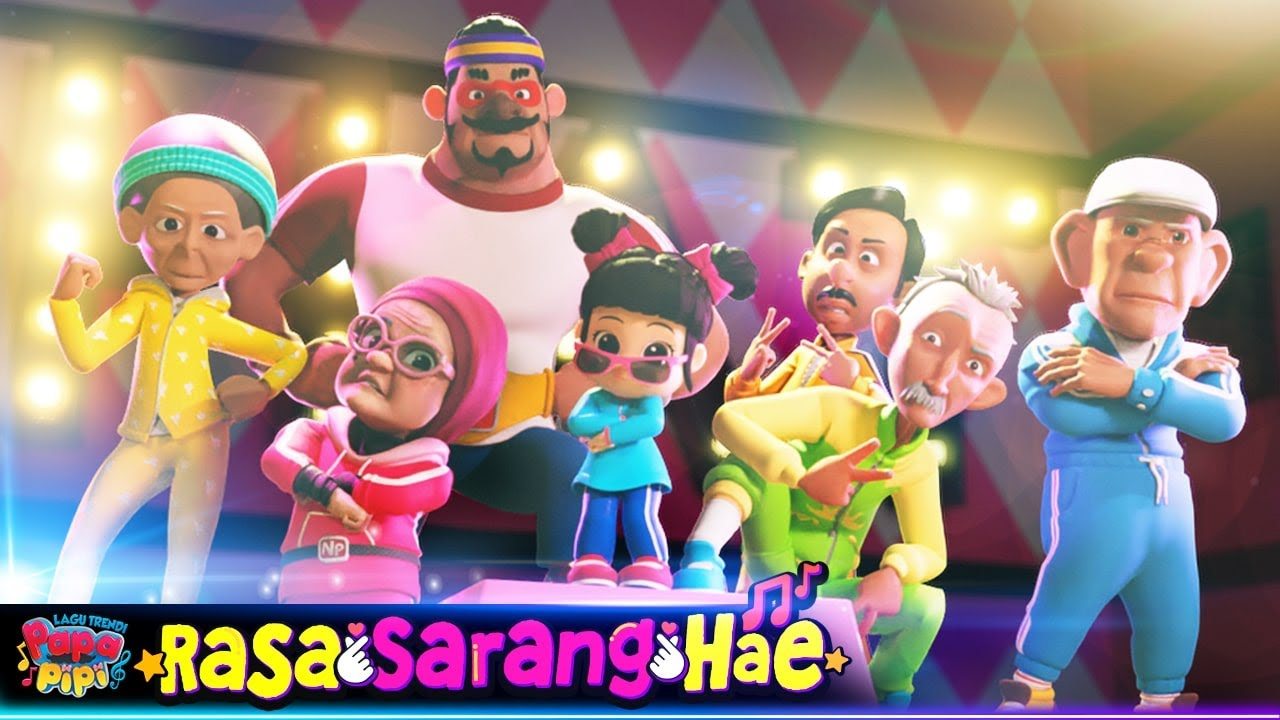 Rasa SarangHae | BARU! | Lagu Trendi | #PapaPipi