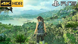 Shadow of the Tomb Raider - PS5 Gameplay 4K HDR 60FPS (Update 2.01)